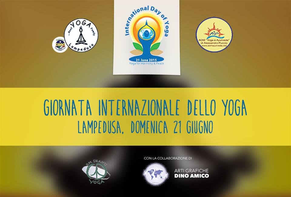 Giornata Internazionale dello Yoga 2015  a Lampedusa