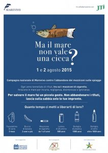 'Ma il mare non vale una cicca?' La campagna Marevivo anche a Lampedusa