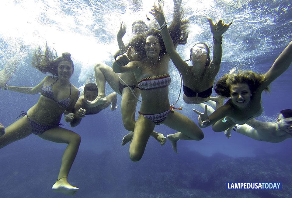Il mare rende felici (Foto di Luca Siragusa / eGlob)