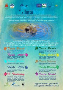 Tartaworld 2016. Una serie di eventi a Lampedusa e Linosa dedicati alla Caretta Caretta