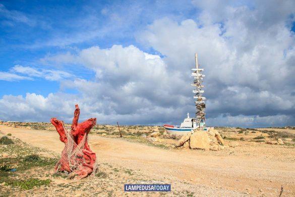 Passeggiando in inverno a Lampedusa