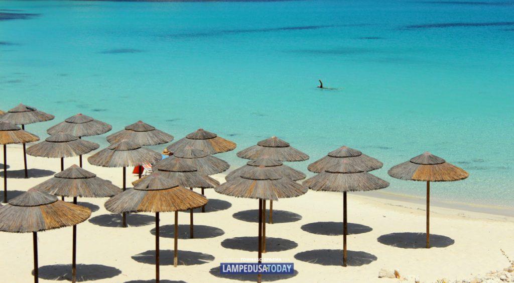 Spiaggia della Guitgia - Foto di Tommaso Sparma per Lampedusa Today™