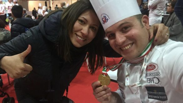 Chef Vincenzo Di Palma medaglia d'oro FIC 2018