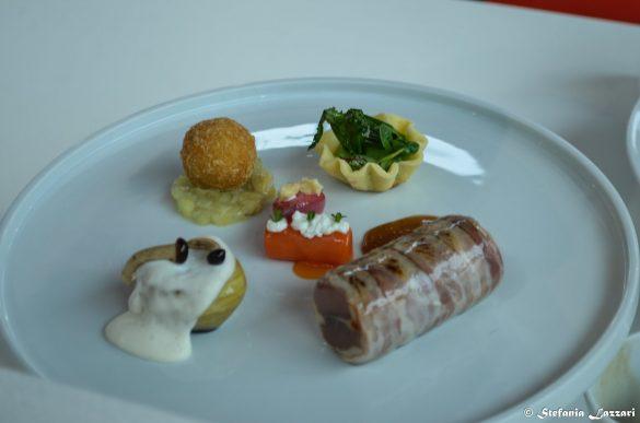 Main course realizzata dallo chef Vincenzo Di Palma medaglia d'oro