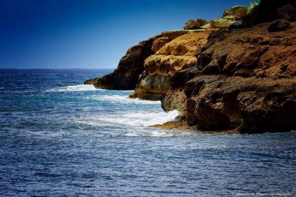 Il mare visto da Cala Pulcino - Foto di Giancarlo Bogoni per Lampedusainfoto