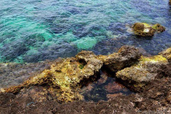Magica Lampedusa con i molti colori del mare - Foto di Giancarlo Bogoni per Lampedusainfoto
