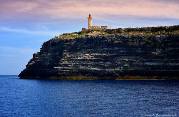 Il Faro di Capo Grecale - Foto di Giancarlo Bogoni per Lampedusainfoto