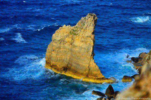 Faraglione della Vela - Foto di Giancarlo Bogoni per Lampedusainfoto