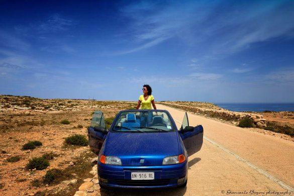 La Strada Panoramica che attraversa a settentrione tutta l'Isola di Lampedusa: un territorio suggestivo e ricco di fascino - Foto di Giancarlo Bogoni per Lampedusainfoto