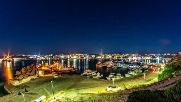 Notturna, 9 agosto 2014 - Foto di Marco Martire per Lampedusainfoto