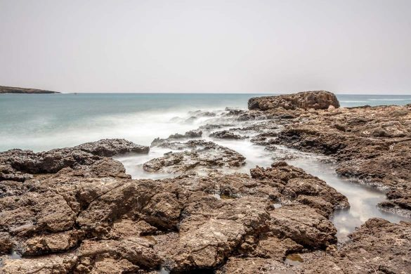 Rocce e acqua, 4 agosto 2014 - Foto di Marco Martire per Lampedu