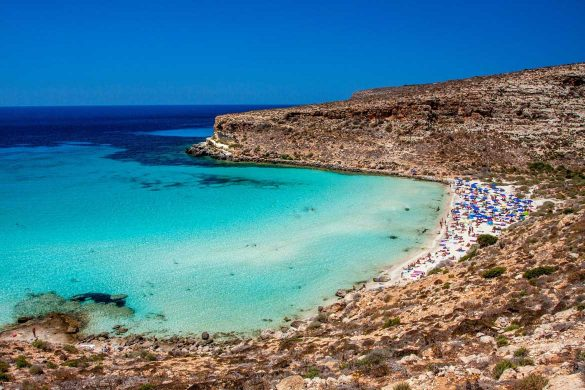 Isola dei Conigli, 1 agosto 2014 - Foto di Marco Martire per Lampedusainfoto