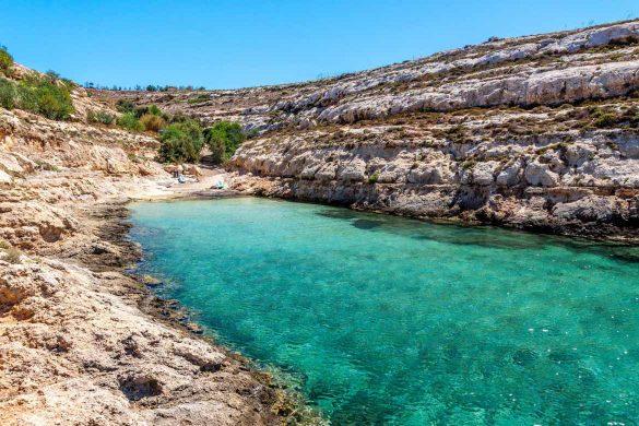 Cala Greca, 31 luglio 2014 - Foto di Marco Martire per Lampedusainfoto