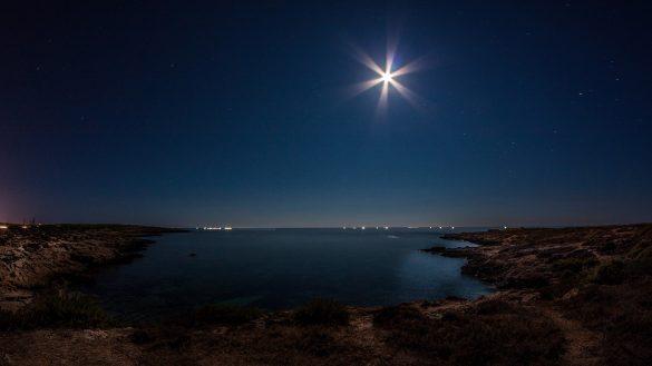 Notturna, 8 agosto 2014 - Foto di Marco Martire per Lampedusainfoto