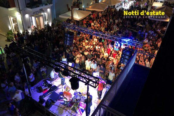 Notte Bianca 2018 a Lampedusa - Parte del calendario eventi Notti d'estate organizzato da Hub Turistico Lampedusa